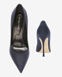Sergio Rossi - Blue Godiva Pointy Toe Stiletto: Indigo - Lyst