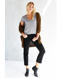 Truly Madly Deeply | Gray Naomi Scoop Neck Tee | Lyst