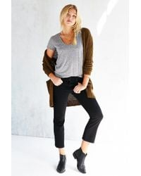 Truly Madly Deeply   Gray Naomi Scoop Neck Tee   Lyst