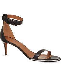 Givenchy - Black Nadia 60 Heeled Sandals - Lyst