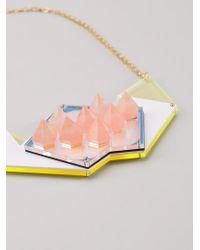 Sarah Angold Studio | Metallic 'dalis' Necklace | Lyst