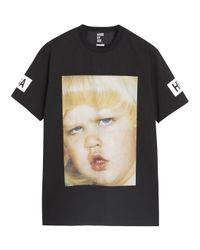Hood By Air Dunce Movie Black Printed Tshirt for men