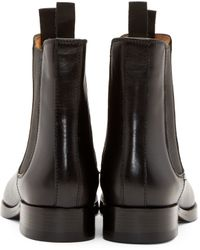 Acne Studios - Black Bess Chelsea Boots - Lyst