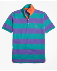 Brooks brothers original fit bright rugby stripe for Brooks brothers custom shirt