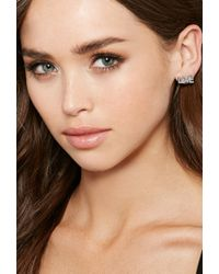 Forever 21 Metallic Makko Love Stud Earring