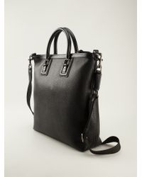 Dolce & Gabbana - Black 'vachetta' Shopping Tote for Men - Lyst
