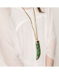 Jenny Bird | Green Wildland Necklace - Large | Lyst