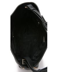 Tory Burch - Robinson Hobo Bag - Black - Lyst