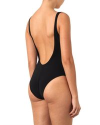 Orlebar Brown Black Almada Sidebuckle Swimsuit