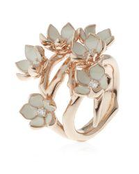 Shaun Leane - White Full Cherry Blossom Ring - Lyst