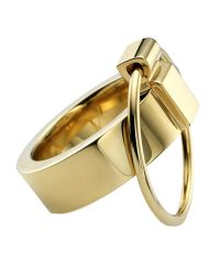 Ruifier | Metallic Gold Icon Ring | Lyst