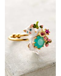 Les Nereides | White Le Chat Blanc Ring | Lyst