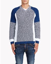 DSquared² | Blue Pullover for Men | Lyst