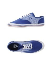 Le Coq Sportif - Blue Low-tops & Trainers - Lyst