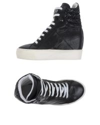 Lemarè | Black High-tops & Trainers for Men | Lyst