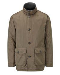 Skopes Brown Rutherford Coat for men