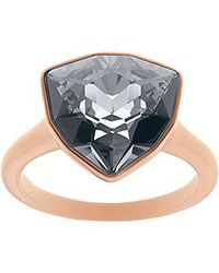 Swarovski | Black Brief Ring | Lyst
