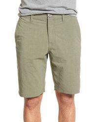 Volcom - Green 'surf N' Turf Dry' Hybrid Shorts for Men - Lyst