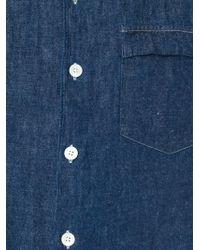Our Legacy - Blue Denim Shirt for Men - Lyst