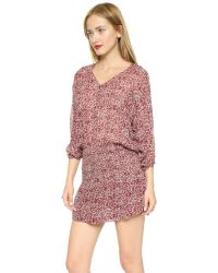 Ulla Johnson | Purple Samira Dress - Bordeaux | Lyst