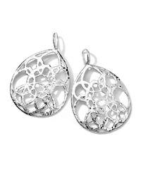 Ippolita - Metallic Sterling Silver Wonderland Cutout Large Teardrop Earrings - Lyst