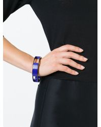 Erika Cavallini Semi Couture - Blue Multi Blocks Bracelet - Lyst
