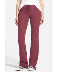 Wildfox - Red Basic Track Pants - Lyst