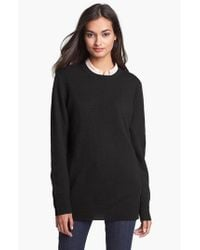 Equipment | Black 'rei' Cashmere Sweater | Lyst