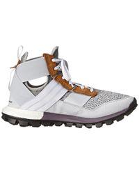 Adidas Gray Response Trail Boost Boot