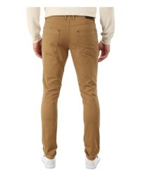 Michael Kors - Natural Skinny Five-pocket Twill for Men - Lyst