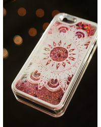 Free People | Pink Womens Cosmic Storm Iphone Case | Lyst