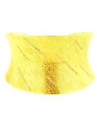 Coomi - Metallic Diamond And Gold Spring Cuff - Lyst