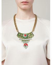 Iosselliani | Metallic 'full Metal Jewels' Necklace | Lyst