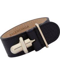 Balenciaga | Black Tube Bracelet | Lyst