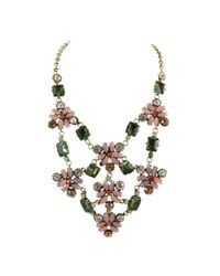 Ziba - Pink Gracia Statement Necklace - Lyst
