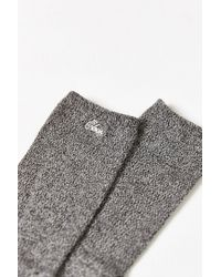 Obey | Gray Crosby Sock for Men | Lyst