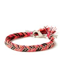 Banana Republic | Pink Woven Friendship Bracelet | Lyst