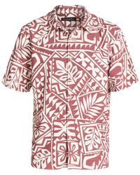 Quiksilver | Purple Waterman North End Printed Shirt for Men | Lyst
