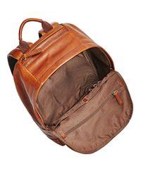 Fossil Brown Mbg9242222 Mens Backpack for men