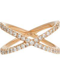 Eva Fehren - Metallic Shorty Ring Size 8 - Lyst