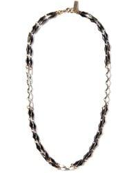 Isabel Marant Black Kimpatsu Double Necklace