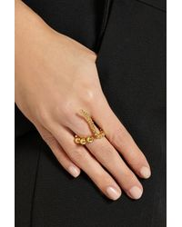 Paula Mendoza | Metallic Adriane Gold-plated Ring | Lyst