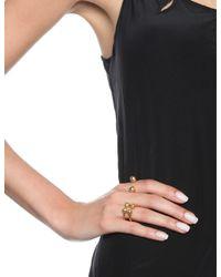 Bjorg | Metallic Gold Double Secret Ring | Lyst