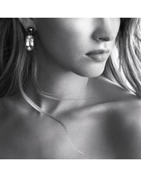 David Yurman - Grisaille Earrings with Black Orchid and Hampton Blue Topaz - Lyst