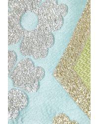 J.Crew - Green Collection Metallic Brocade Dress - Lyst