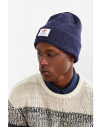 Adidas | Blue Originals Victors Knit Beanie for Men | Lyst