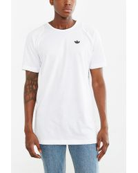 Adidas | White Sport Luxe Long Reptile Tee for Men | Lyst