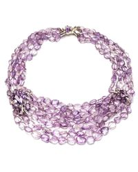 Alexis Bittar | Purple Velvet Marquis Tressage Necklace You Might Also Like | Lyst