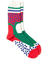 Henrik Vibskov - Multicolor 'et' Socks for Men - Lyst
