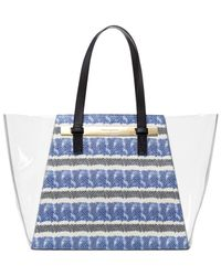 Vince Camuto | Blue Jace Clear Tote | Lyst
